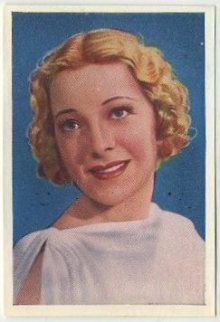 Helen Vinson 1937 Nestles Stars of the Silver Screen