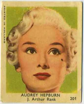 Audrey Hepburn 1954 Klene Val Gum