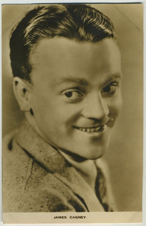 James Cagney Film Weekly Postcard