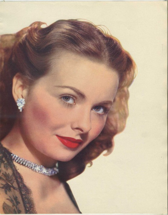 Jeanne Crain 1955 Skye Publications Premium Photo
