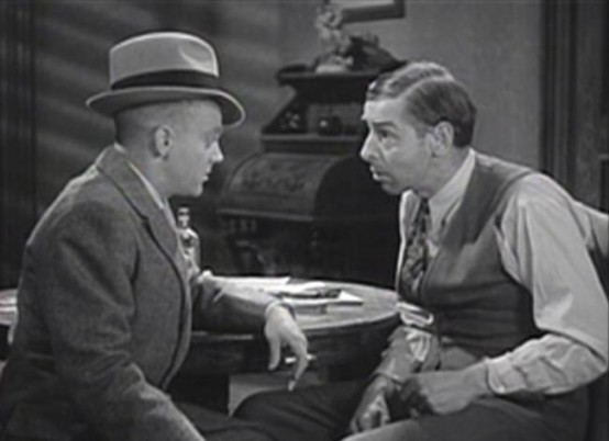 James Cagney and Arthur Hohl