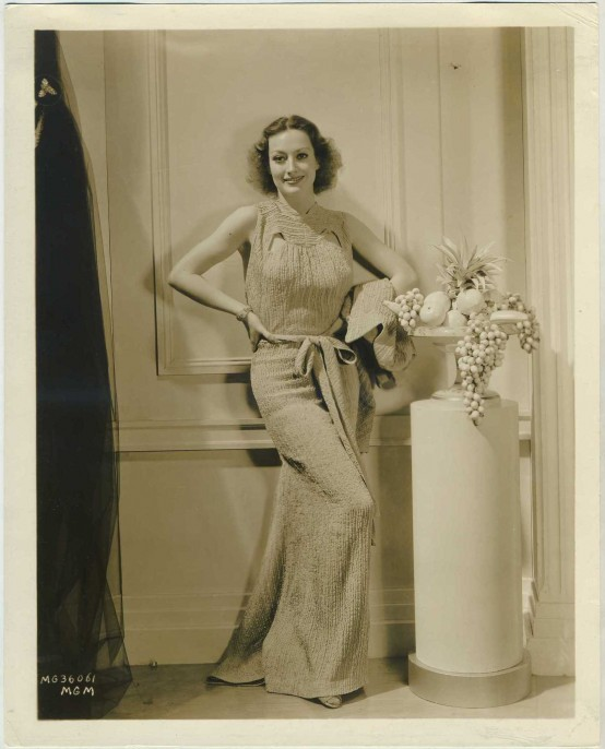 Joan Crawford 1930s Promotional Photo