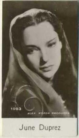 June Duprez 1940 Du Buekelaer