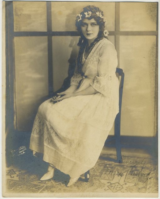 Mary Pickford 1910s era Fan Photo