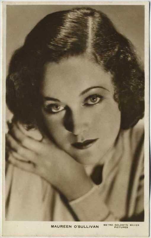 Maureen O'Sullivan Picturegoer Postcard