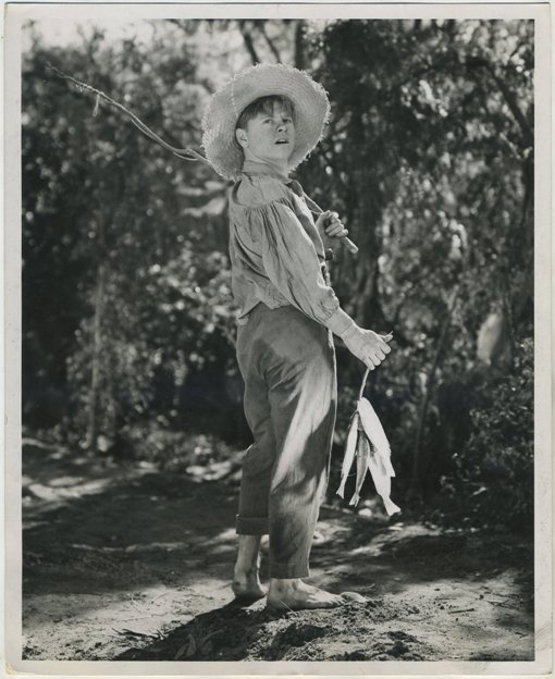 Mickey Rooney in The Adventures of Huckleberry Finn