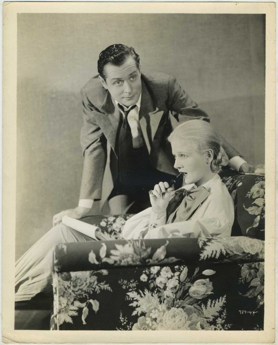 Robert Montgomery and Ann Harding Still Photo