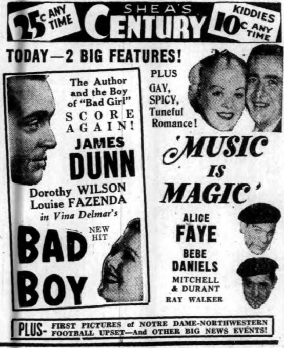 Music Is Magic Newspaper Ad