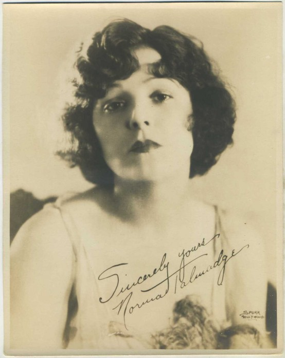Norma Talmadge 1920s fan photo