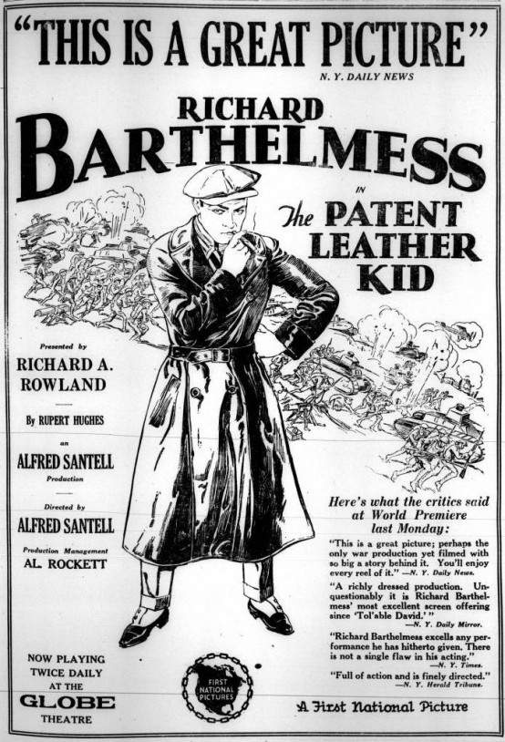 The Patent Leather Kid 1927 Variety advertisement