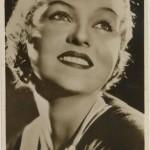Patricia Ellis 1930s Picturegoer Postcard