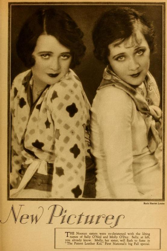 Molly O'Day and Sally O'Neil