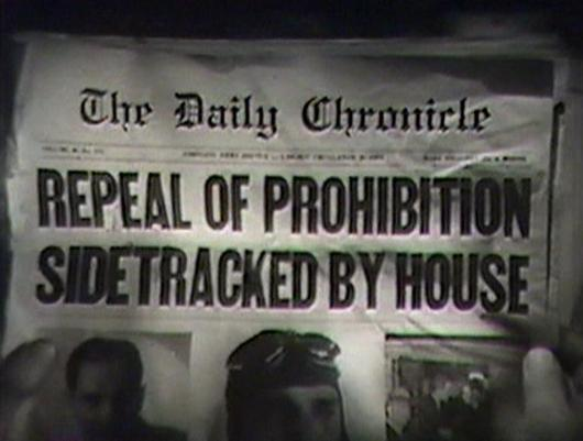 Repeal of Prohibition newspaper from The Night of June 13th