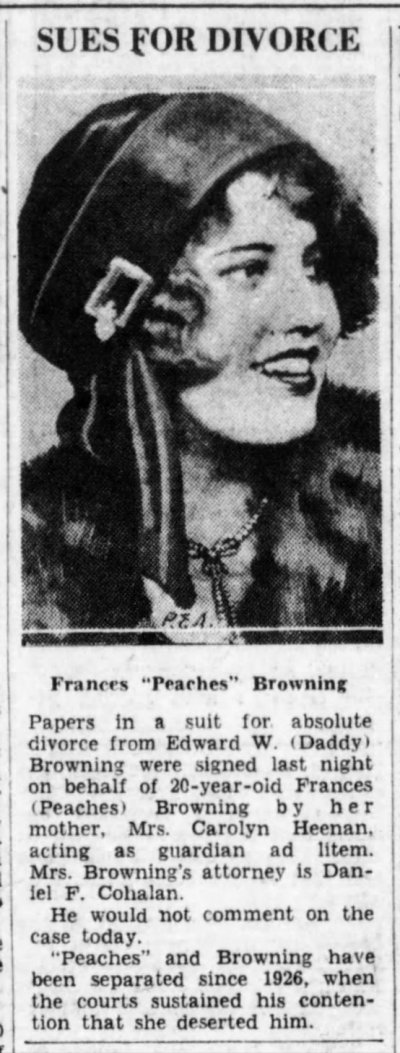 Peaches Browning
