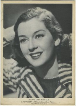 Rosalind Russell R96 Card