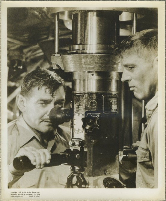 Clark Gable and Burt Lancaster Run Silent Run Deep
