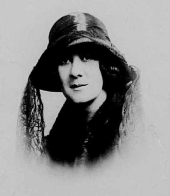 Ruth Donnelly 1922 Passport Photo