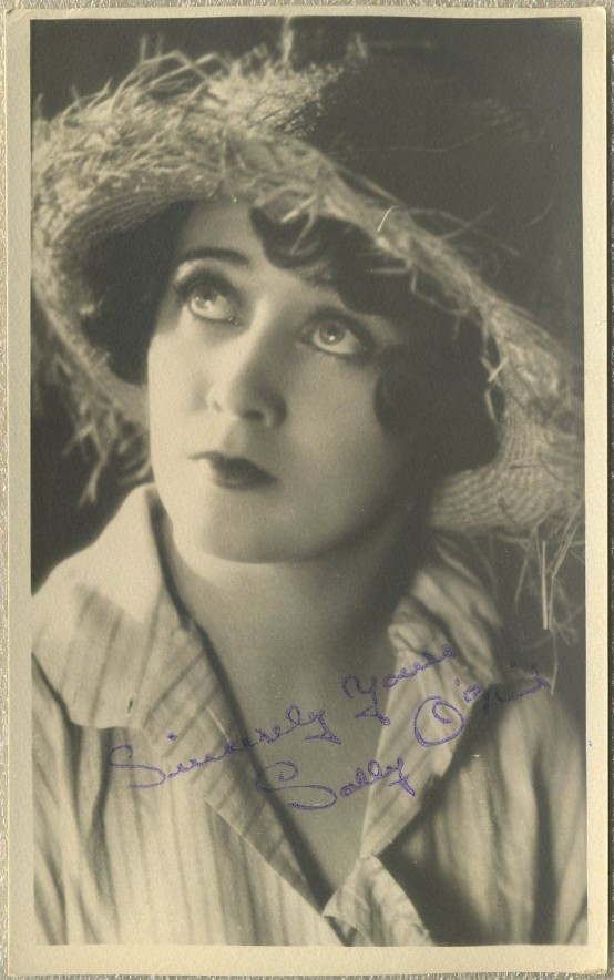 Sally O'Neil 1920s Fan Photo