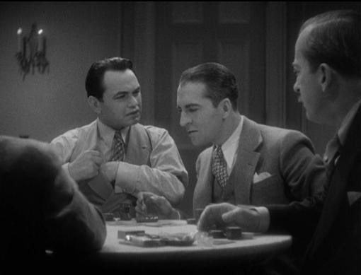 Edward G Robinson and Ralf Harolde