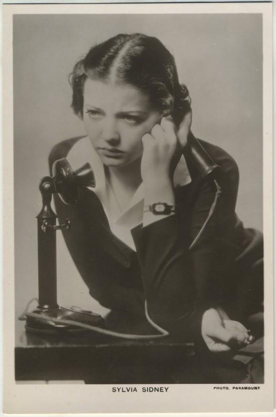 Sylvia Sidney Picturegoer Postcard