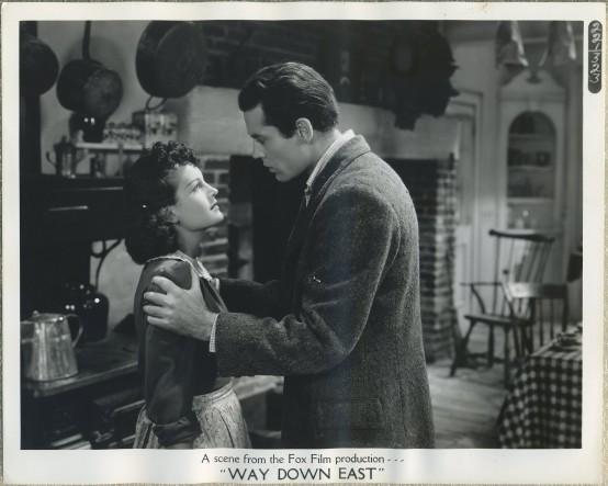 Rochelle Hudson and Henry Fonda Way Down East Still Photo