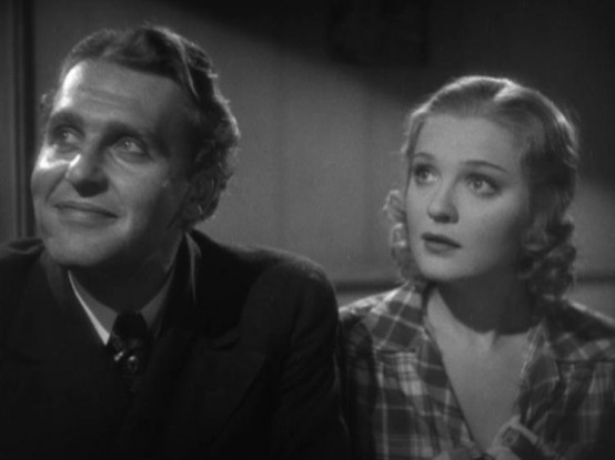 Ralph Bellamy and Anna Sten