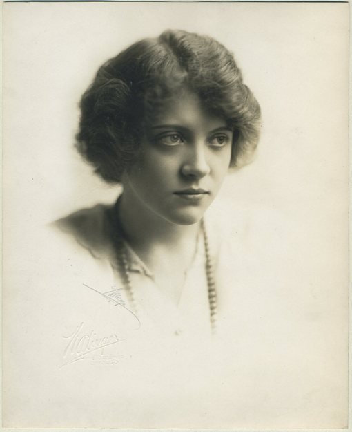 Ruth Chatterton 1914 Portrait