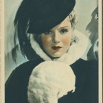 Anna Sten 1934 Godfrey Phillips Postcard