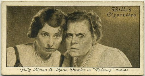 Polly Moran and Marie Dressler 1931 Wills