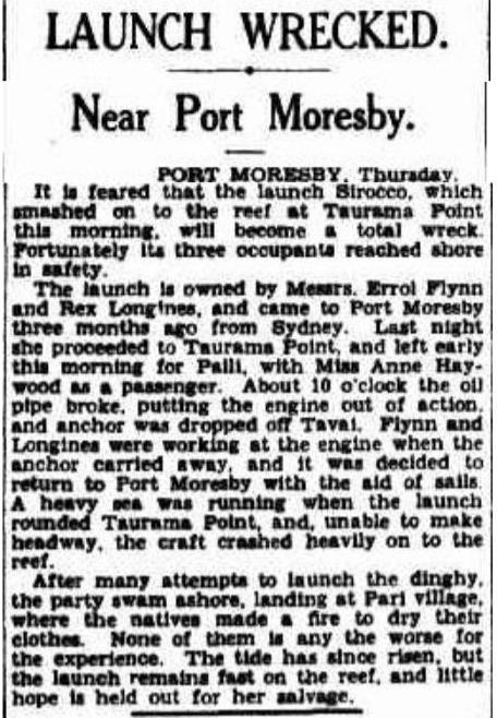 The Sydney Morning Herald (NSW : 1842 - 1954), Friday 12 December 1930, page 12.
