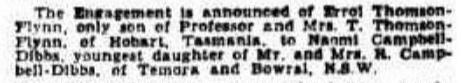 The Sydney Morning Herald (NSW : 1842 - 1954), Saturday 24 January 1931, page 12.