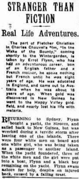 Daily Standard (Brisbane, Qld. : 1912 - 1936), Thursday 20 April 1933, page 7.