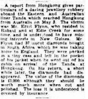 Townsville Daily Bulletin (Qld. : 1907 - 1954), Monday 22 May 1933, page 4.