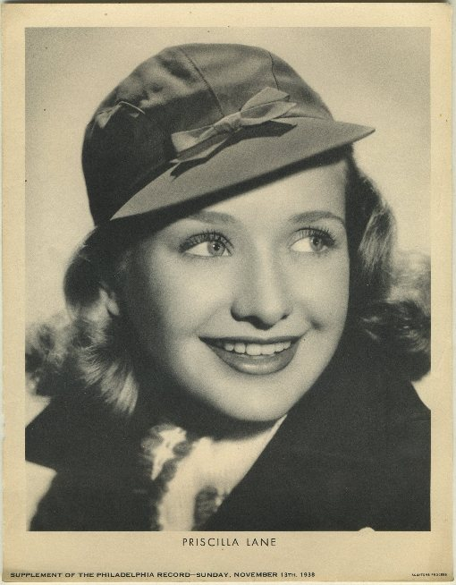 Priscilla Lane 1938 M23 Premium Photo