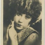 Alberta Vaughan 1920s Fan Photo