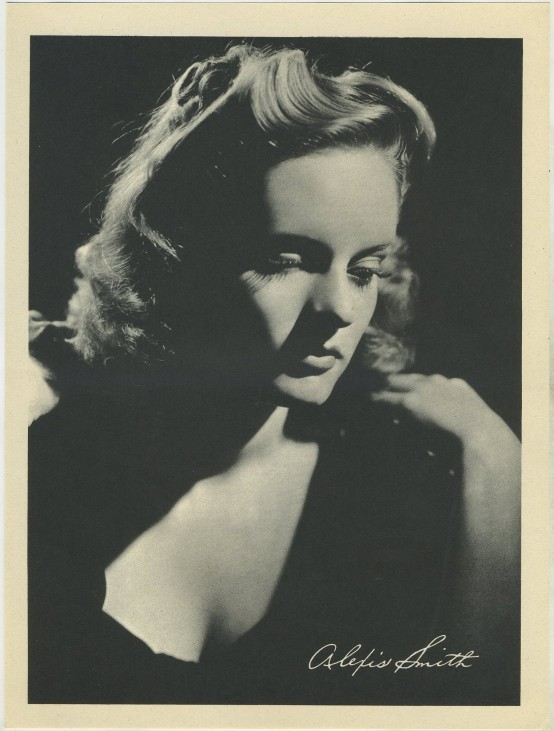 Alexis Smith Motion Picture Magazine Premium Photo