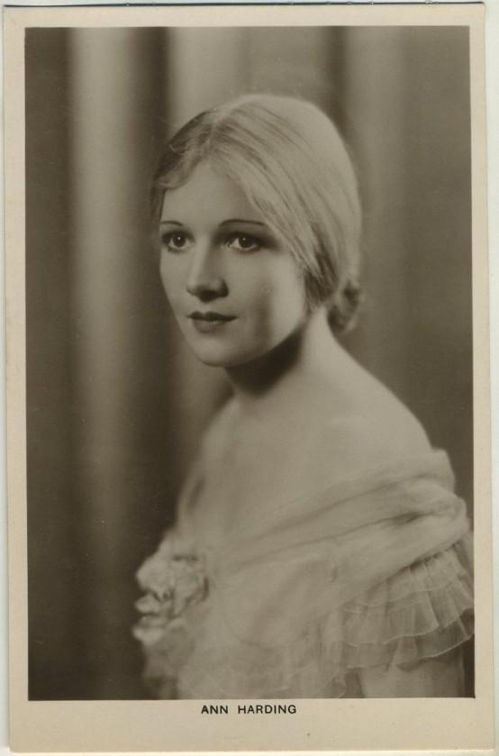 Ann Harding Picturegoer Postcard