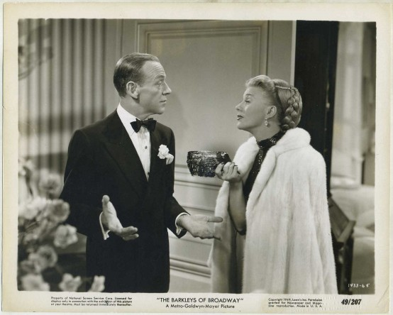 Fred Astaire and Ginger Rogers in The Barkleys of Broadway