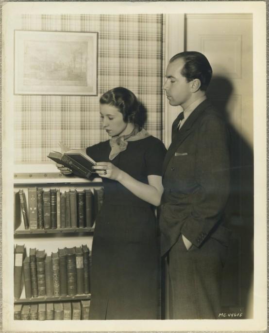 Prince Sigvard Bernadotte and Erica Patzek 1930s MGM Photo