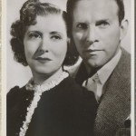George Burns and Gracie Allen Picturegoer Postcard