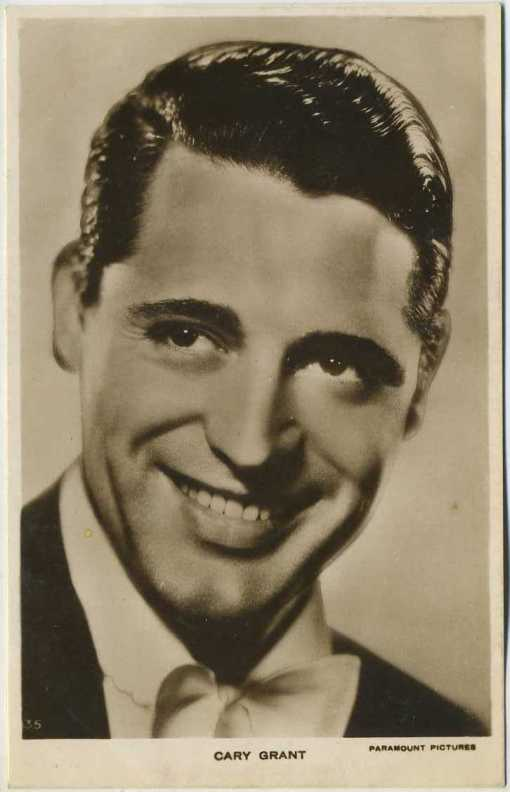 Cary Grant 1930s Picturegoer Postcard