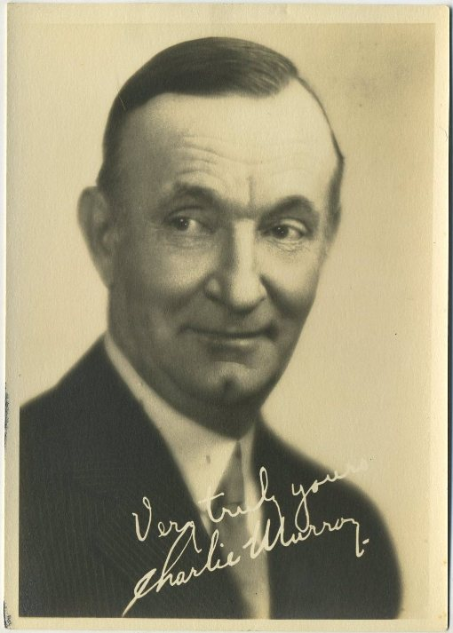 Charlie Murray 1920s Fan Photo