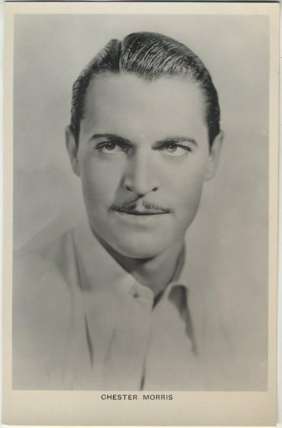 Chester Morris 1930s Picturegoer Postcard