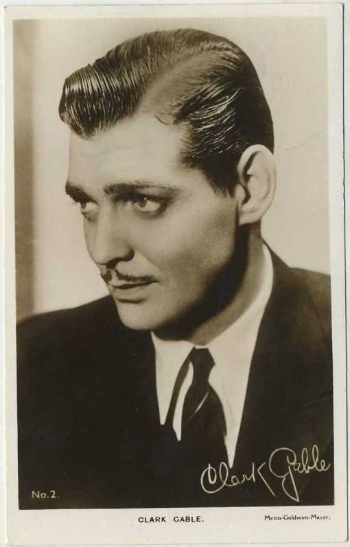 Clark Gable 1930s Picturegoer Postcard