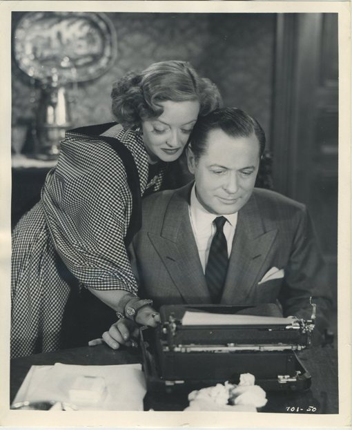 Bette Davis and Robert Montgomery in June Bride