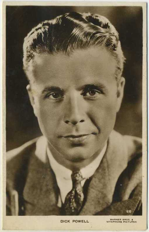 Dick Powell 1930s Picturegoer Postcard