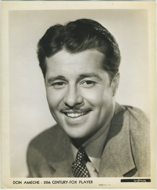 Don Ameche 1930s 20th Century Fox Photo