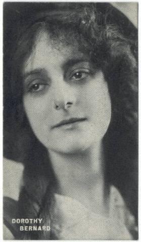 Dorothy Bernard 1910s Trading Card