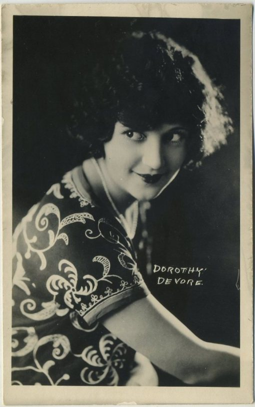 Dorothy Devore 1920s AZO Postcard