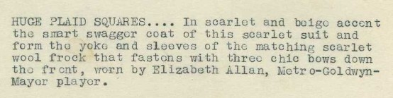 Elizabeth Allan 1930s Photo Caption